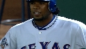 Andrus is called out at first