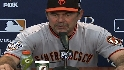 Bochy on Bumgarner, series