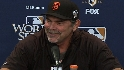 Bochy on Lil' Wash