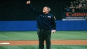 President Bush's first pitch