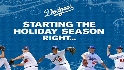 Dodgers holiday card