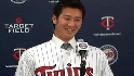 Nishioka meets Minnesota media