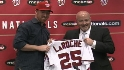 LaRoche on joining Nationals