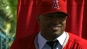 Angels introduce Vernon Wells
