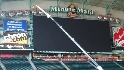 Astros install new video board