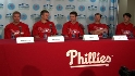 Phils rotation meets the press