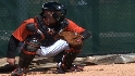 Wieters gives workout report