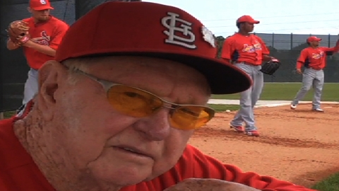 Cards still hoping legend Schoendienst makes it to camp