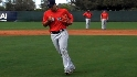 Iglesias works on fielding