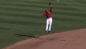 Segura&#039;s leaping grab