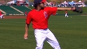 Haren on Angels Spring Training