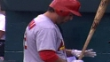 Berkman loses his bat