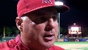 Scioscia on Haren and bullpen