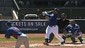 Moreland&#039;s two-run shot
