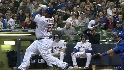 Fielder's 100th Miller Park HR
