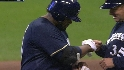 Fielder's third RBI double