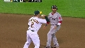 Anderson picks off Pedroia