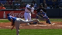 Heyward's three-run homer