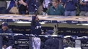 Braun's three-run blast