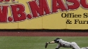 Bay's diving catch