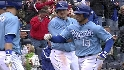 Aviles&#039; three-run blast
