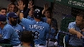 The Rays' five-run rally