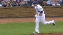 Hosmer&#039;s first at-bat