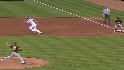 Hosmer&#039;s first stolen base