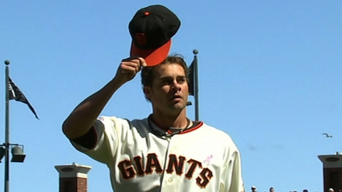 Vogelsong revels in fans' faith, enthusiasm