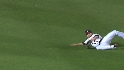 McLouth's sliding catch