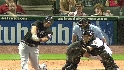 Martinez's two-run blast