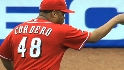 Cordero yells at Cards&#039; dugout