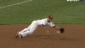 Polanco's diving stop