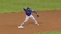 Kinsler starts double play