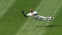 Carrera's diving catch