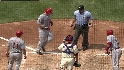 Bruce&#039;s two-run homer