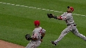 Aybar&#039;s great catch