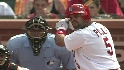 Pujols' RBI single