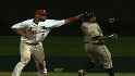Pujols clotheslines Tejada