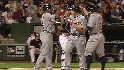 Wells' three-run homer