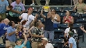 Fan Catches Foul Ball in Popcorn
