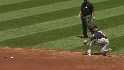 Phelps&#039; first career at-bat