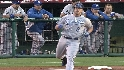 Moustakas' first at-bat