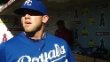 Royals on Moustakas, youth