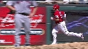 Young&#039;s solo home run