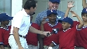 RBI kids visit Rangers Ballpark