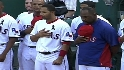 Rangers, A&#039;s honor Stone