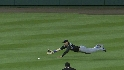 Gonzalez's diving attempt