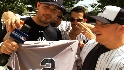 Fans celebrate Jeter&#039;s 3,000th