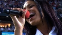 Sparks sings the anthem